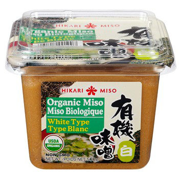 Hikari Miso White Type in a package.