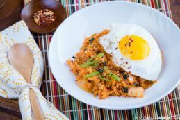 Kimchi Fried Rice | Easy Japanese Recipes at JustOneCookbook.com