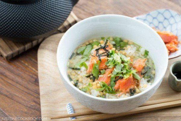 Ochazuke (Green Tea Over Rice) | Easy Japanese Recipe at JustOneCookbook.com