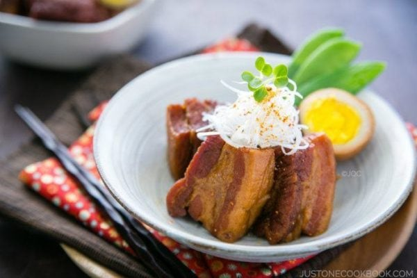 Braised Pork Belly (Kakuni) #recipe | Easy Japanese Recipes at JustOneCookbook.com