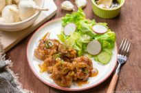 Teriyaki Pork Ball #recipe | Easy Japanese Recipes at JustOneCookbook.com