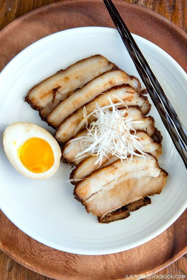 Chashu (Japanese Braised Pork Belly) チャーシュー • Just One