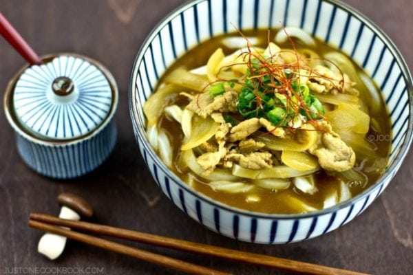 Curry Udon カレーうどん | Easy Japanese Recipes at JustOneCookbook.com