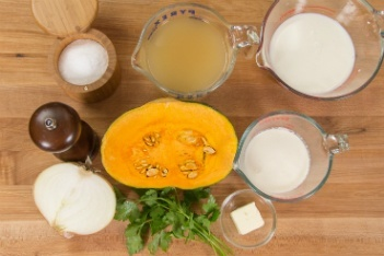 Kabocha Squash Soup Ingredients