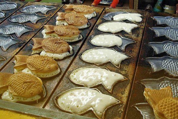 Taiyaki Street Vendor