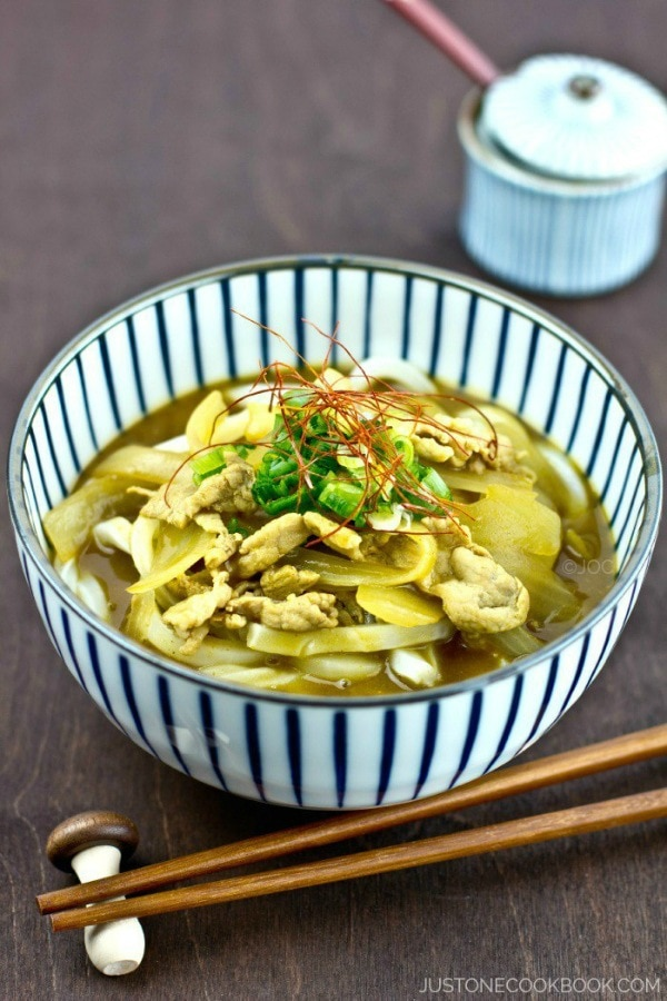 Curry Udon カレーうどん   Easy Japanese Recipes at JustOneCookbook.com
