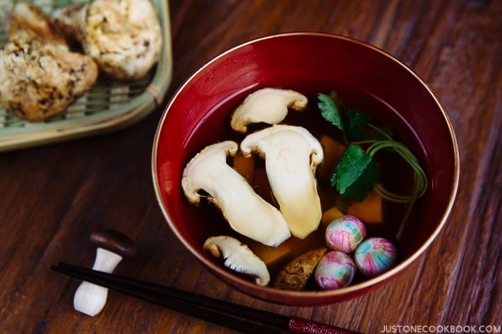 Matsutake soup just one cookbook forumfinder Choice Image