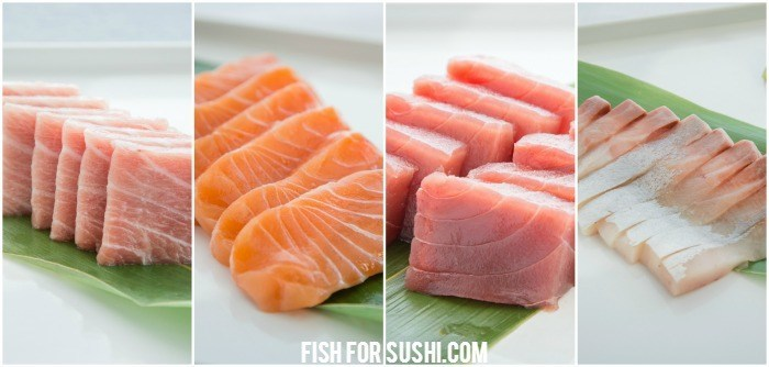 Otoro sushi two ways just one cookbook for Sushi grade fish