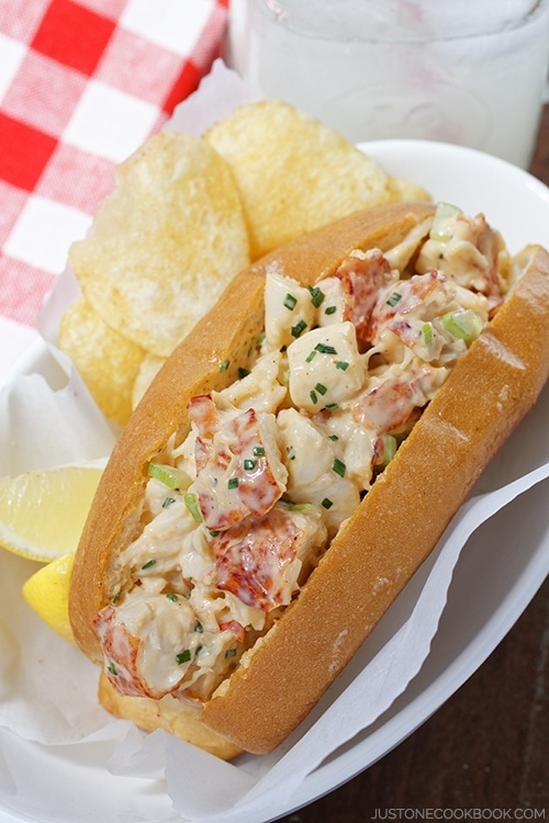 Lobster Roll Just One Cookbook