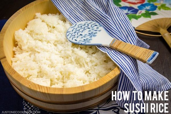 How To Make Sushi Rice 酢飯 • Just One Cookbook