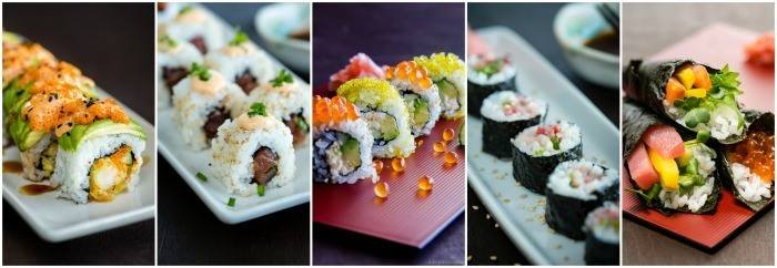 Sushi Rolls on JustOneCookbook.com