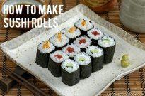 Sushi Rolls (Hosomaki) 細巻き
