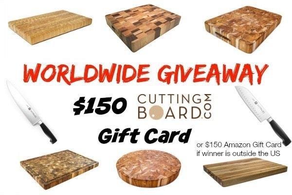CuttingBoard Giveaway