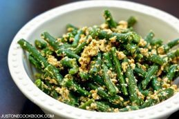 Green Bean Shiraae | Easy Japanese Recipes at JustOneCookbook.com