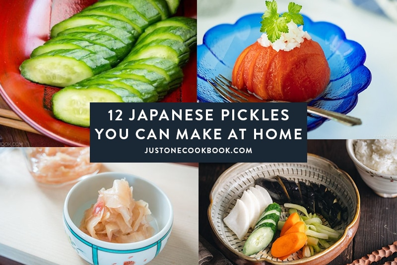 12 Japanese Pickles You Can Make At Home