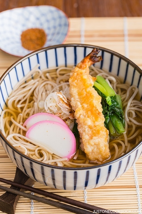 recipe: seafood soba soup [6]