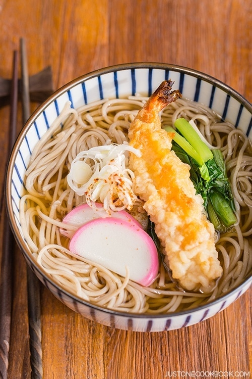 recipe: seafood soba soup [14]