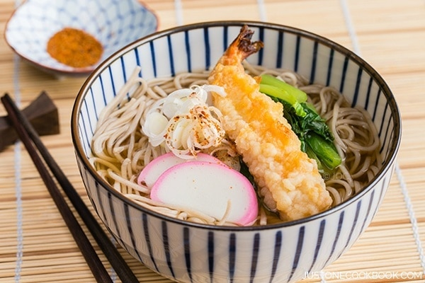 Soba Noodle Soup | Easy Japanese Recipes at JustOneCookbook.com