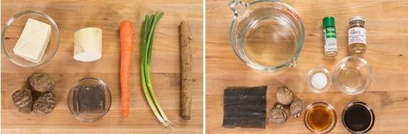 Kenchinjiru Ingredients