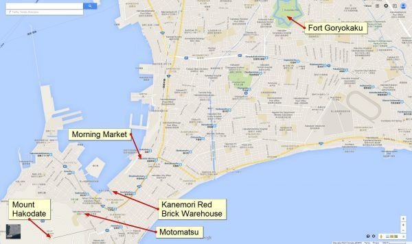 Google Map Hakodate