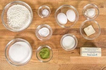 Green Tea Madeleine Ingredients