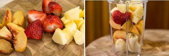 Strawberry Banana Smoothie 1