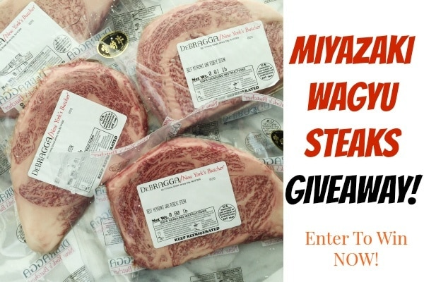 Wagyu Giveaway at JustOneCookbook.com