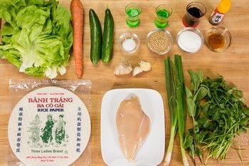 Chicken Spring Rolls Ingredients