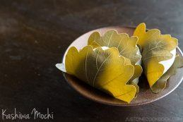 Kashiwa Mochi | Easy Japanese Recipes at JustOneCookbook.com