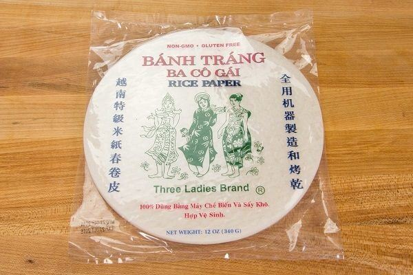Rice Paper in a package.