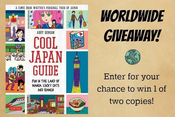 Tuttle Cool Japan Guide Giveaway