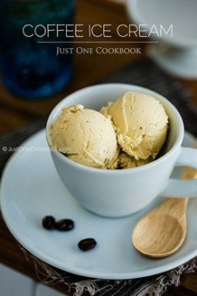 Coffee Ice Cream | JustOneCookbook.com