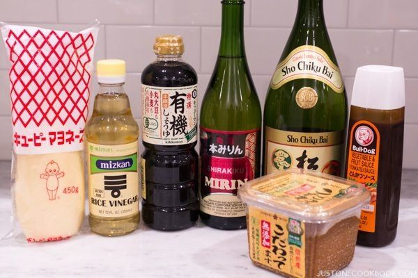Essential Japanese Condiments | Easy Japanese Recipes at JustOneCookbook.com