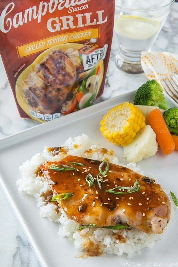 Grilled Chicken with Teriyaki Sauce III