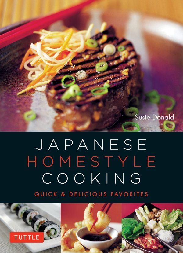 Japanese Homestyle Cooking Cookbook
