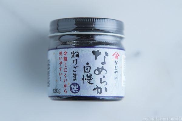Negi Goma (Black Sesame Paste)