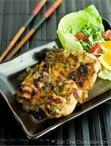 Negi Miso Chicken | JustOneCookbook.com