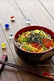 Quick Easy Chirashi Sushi| JustOneCookbook.com