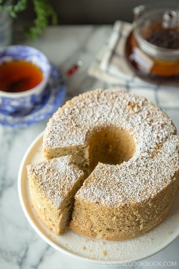 Earl Grey Chiffon Cake | Easy Japanese Recipes at JustOneCookbook.com
