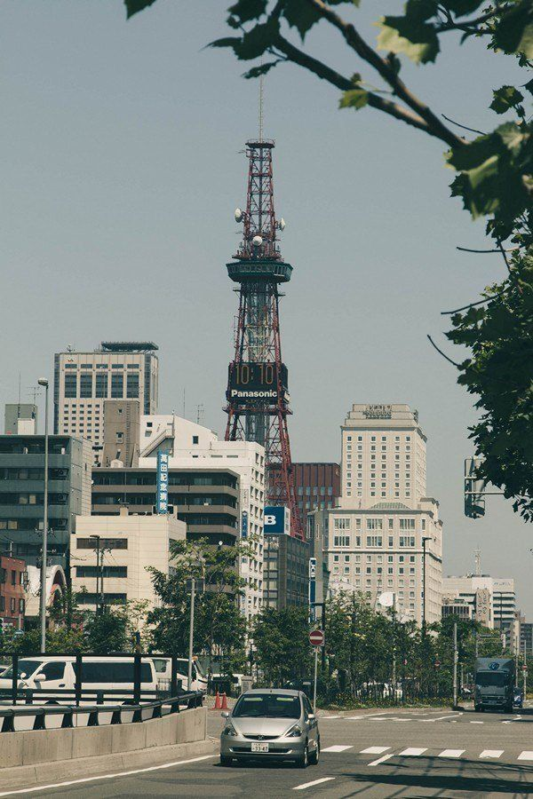 TV Tower and Odori Park