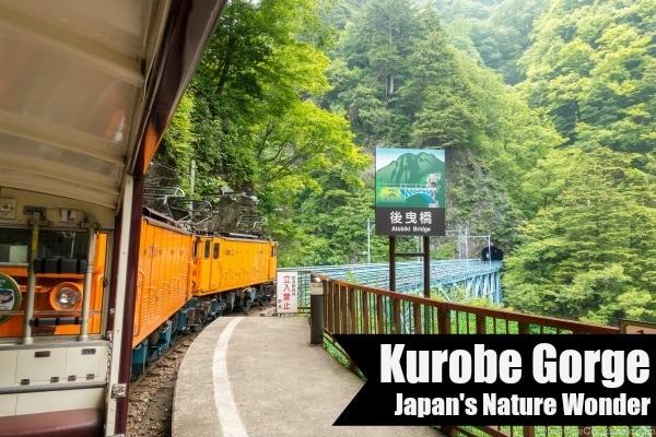 Kurobe Gorge | Easy Japanese Recipes at JustOneCookbook.com