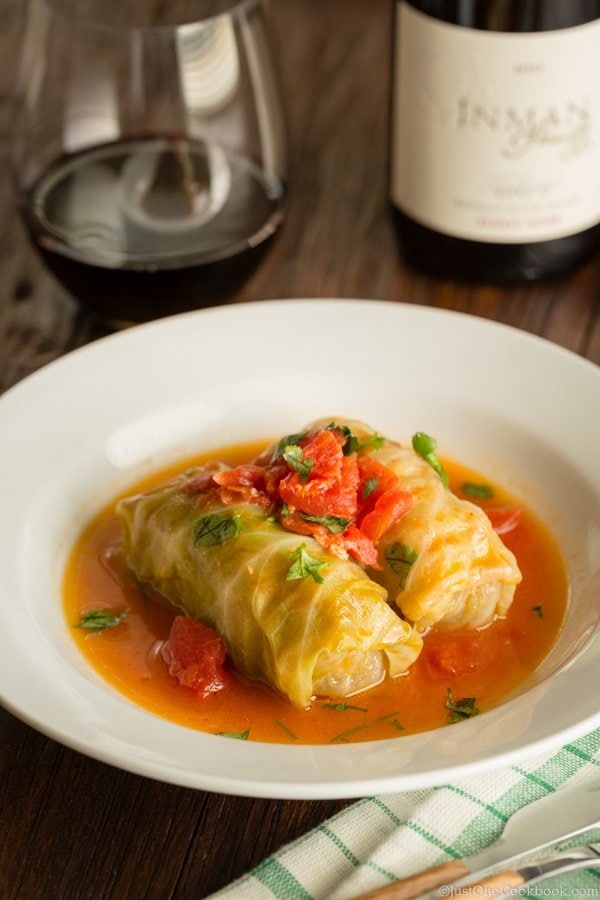 Japanese Stuffed Cabbage Rolls | Easy Japanese Recipes at JustOneCookbook.com