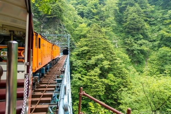 Atobiki Bridge Kurobe Gorge