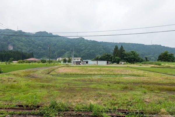 Toyama to Tateyama Scenery
