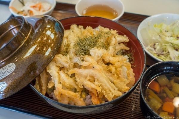 Hotel Tateyama Fried White Shrimp