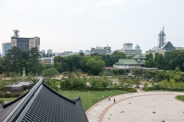 View from Toyama Castle