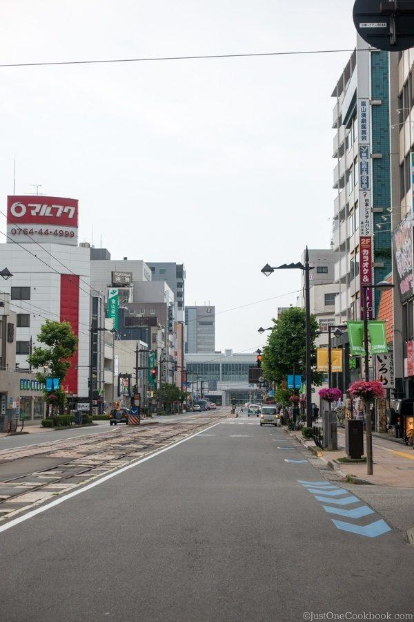 Downtown Toyama