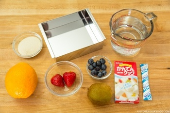 Fruit Jelly Ingredients