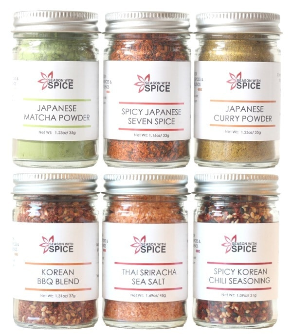 Season with Spice Japanese spices_ giveaway_JustOneCookBook