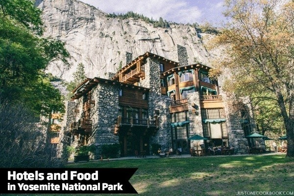 Hotels and Food in Yosemite National Park